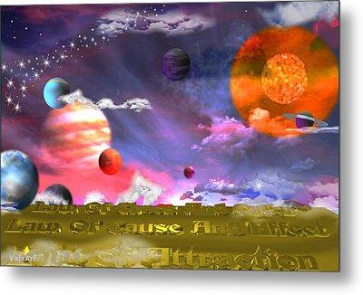 Cosmic Laws Metal Print by By ValxArt