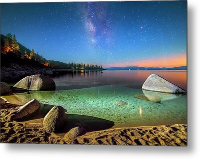 Cosmic Light Metal Print by Steve Baranek