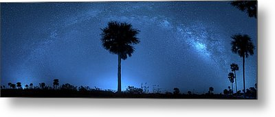 Metal Print featuring the photograph Cosmic Night by Mark Andrew Thomas