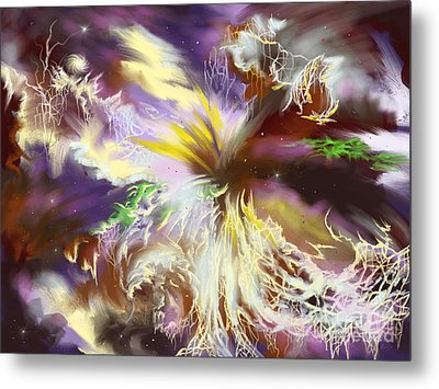 The Flowering Of The Cosmos Metal Print