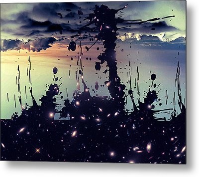 Metal Print featuring the photograph Cosmic Resoance No 3 by Robert G Kernodle