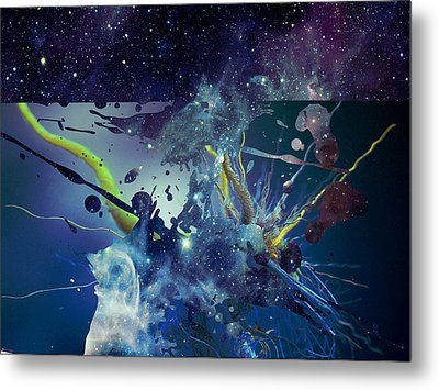 Metal Print featuring the photograph Cosmic Resonance No 1 by Robert G Kernodle