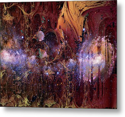 Metal Print featuring the photograph Cosmic Resonance No 2 by Robert G Kernodle