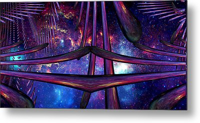 Metal Print featuring the photograph Cosmic Resonance No 7 by Robert G Kernodle