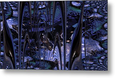 Metal Print featuring the photograph Cosmic Resonance No 8 by Robert G Kernodle