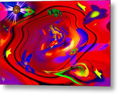 Cosmic Soup Metal Print by Bill Cannon