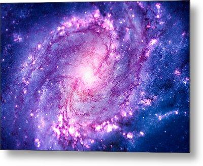 Cosmic Vacuum Cleaner Spiral Galaxy M83 Metal Print by Philipp Rietz