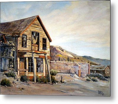 Cosmopolitan Playhouse Metal Print by Evelyne Boynton Grierson