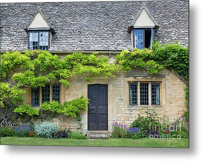 Metal Print featuring the photograph Cotswolds Cottage Home II by Brian Jannsen