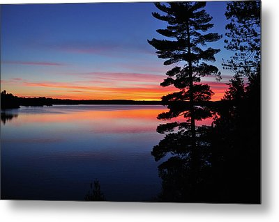 Cottage Sunset Metal Print by Keith Armstrong