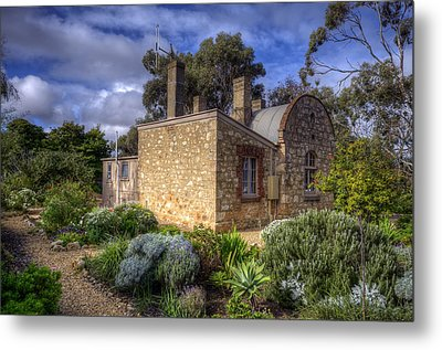 Cottage Metal Print by Wayne Sherriff