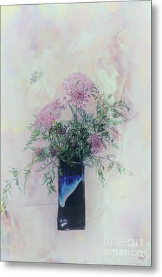 Metal Print featuring the photograph Cotton Candy Dreams by Linda Lees
