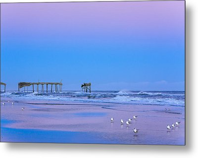 Cotton Candy Sunset Metal Print by Joni Eskridge