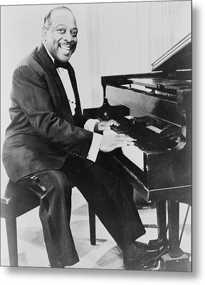 Count Basie 1904-1984, African American Metal Print by Everett