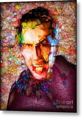 Metal Print featuring the photograph Count Dracula 20170413 by Wingsdomain Art and Photography