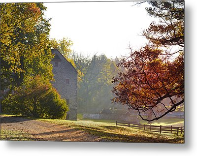 Country Autumn Metal Print by Bill Cannon