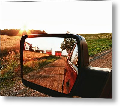 Country Boys Metal Print by Pat Cook