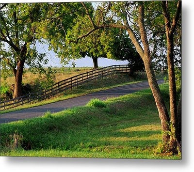 Country Corner Metal Print