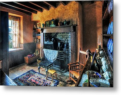 Country Cottage Metal Print by Ian Mitchell