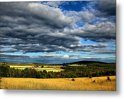 Metal Print featuring the photograph Country Farm by Gary Smith
