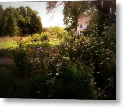 Metal Print featuring the photograph Country House by Cynthia Lassiter