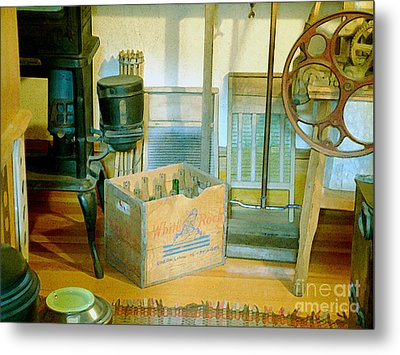 Metal Print featuring the painting Country Kitchen Sunshine II by RC deWinter