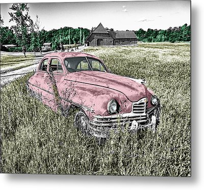 Country Life Metal Print by Ericamaxine Price