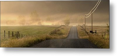 Metal Print featuring the photograph Country Mornings by Al Swasey
