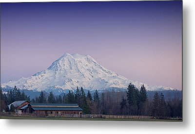 Country Moutain Metal Print