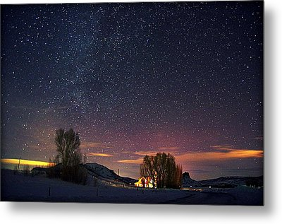 Country Night Life Metal Print by Matt Helm