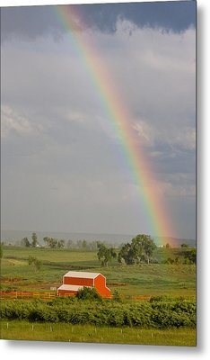 Country Rainbow Metal Print by James BO  Insogna