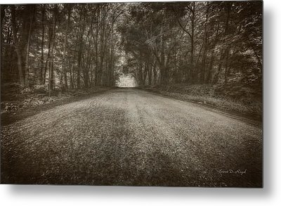 Country Road Metal Print by Everet Regal