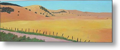Country Road Metal Print by Gary Coleman