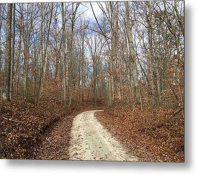 Country Road Metal Print by Russell Keating