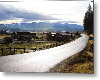 Country Road Metal Print by Sergey Nassyrov