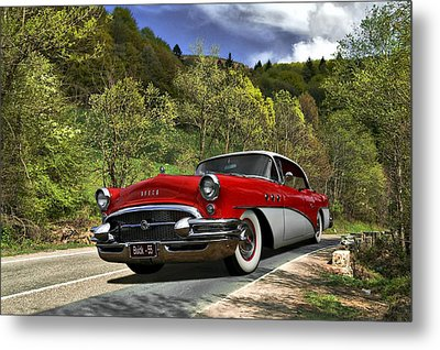 Country Road Metal Print by Steven Agius