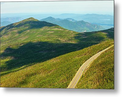 Metal Print featuring the photograph Country Road To My Home Whiteface Mountain New York by Paul Ge