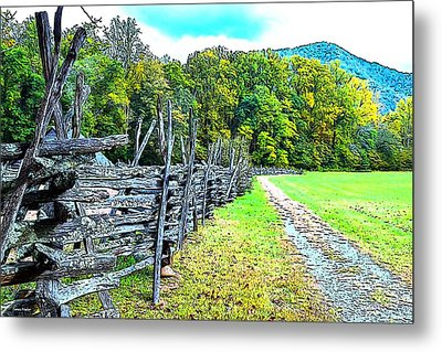 Country Roads Metal Print by James Fowler