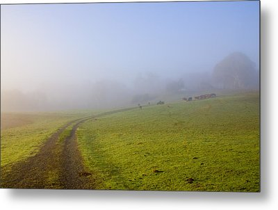 Country Roads Metal Print by Mike  Dawson
