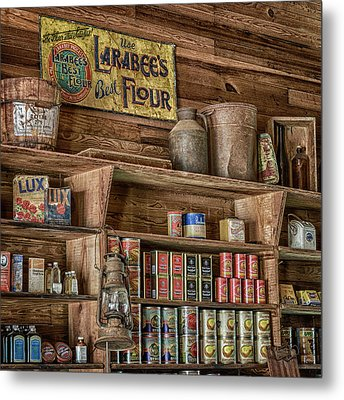 Country Store Metal Print by Stephen Stookey