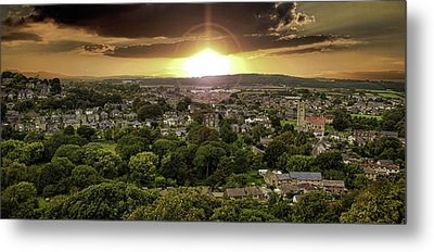 Countryside Metal Print by Martin Newman