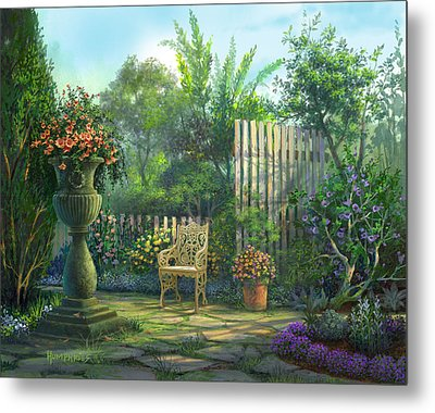 County Contrasts Metal Print by Michael Humphries