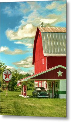 County G Classic Station Metal Print by Trey Foerster