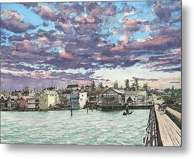Coupeville Metal Print by Perry Woodfin