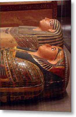 Couple Of Sarcophagi Metal Print