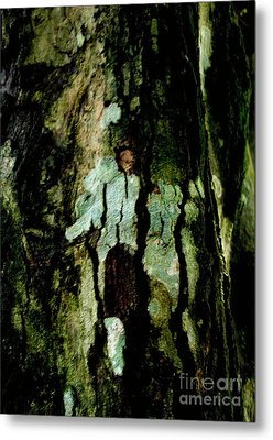 Couple On A Tree Metal Print