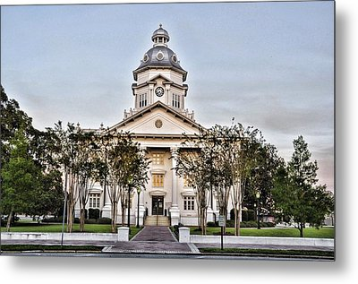 Courthouse In Moultrie Metal Print