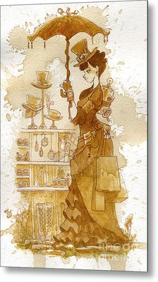Couture Metal Print by Brian Kesinger