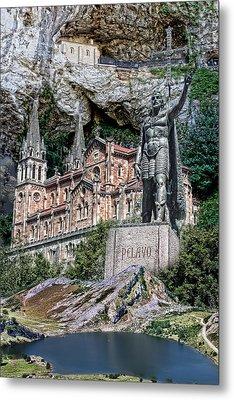 Metal Print featuring the photograph Covadonga by Angel Jesus De la Fuente