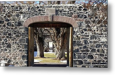 Metal Print featuring the photograph Cove Fort, Utah by Cynthia Powell
